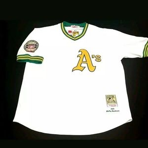 Other - Rickey Henderson Jersey NEW Oakland A's 1979  Rook